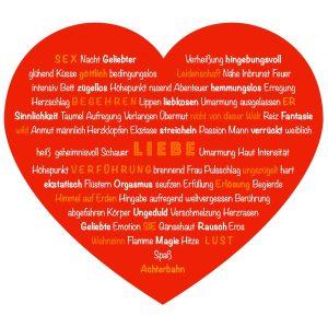Thesaurus körperliche Liebe