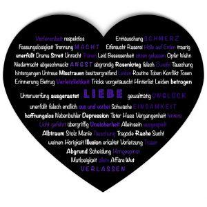 Thesaurus dunkle Seite der Liebe